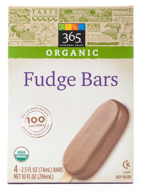 365 Everyday Value® Organic Fudge Bars.