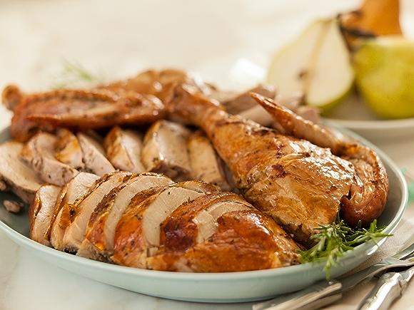 Turkey with Extra-Crispy Skin