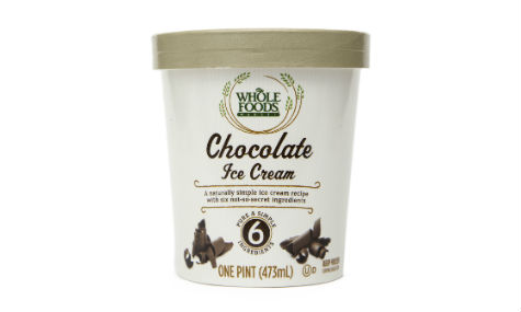 Whole Foods Market Chocolate Ice Cream