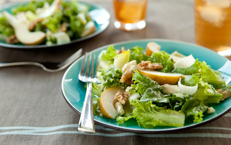 Endive, Pear and Walnut Salad