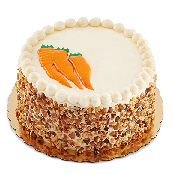 round carrot cake from whole foods market