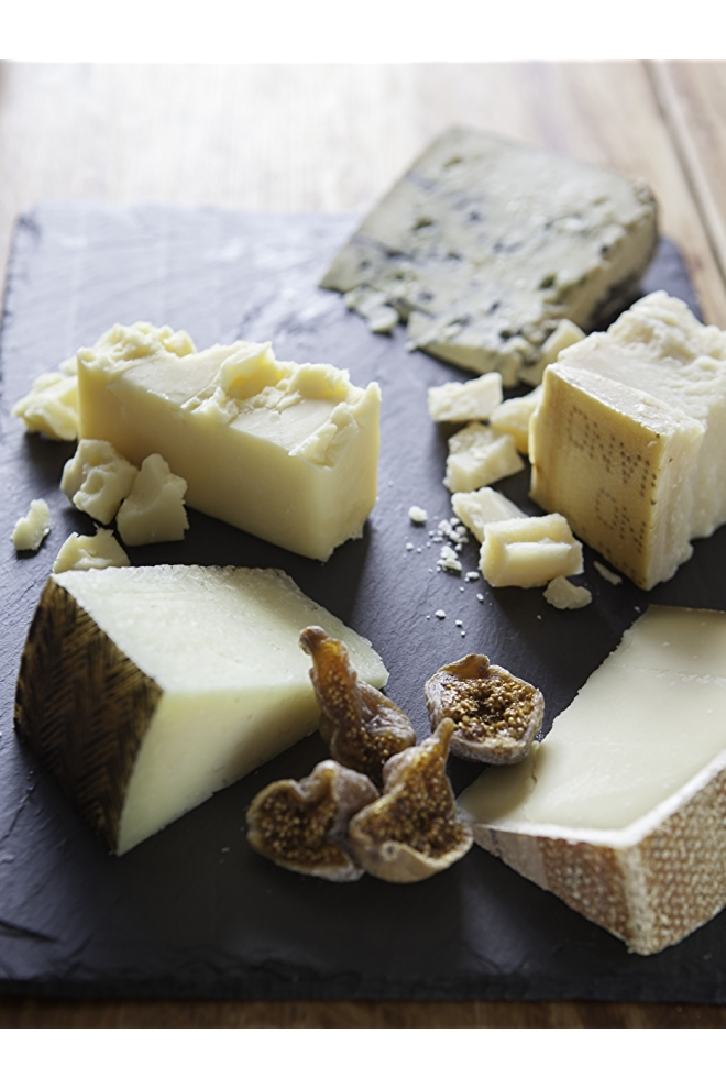This cheese plate is divine!