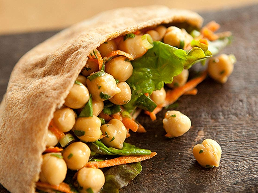 Photo: Tangy Bean Salad with Carrots and Green Onions
