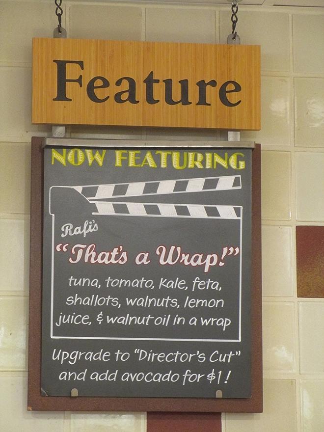Rafi's Wrap