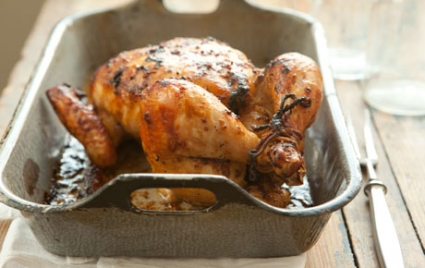 Easy Marinated Roasted Chicken