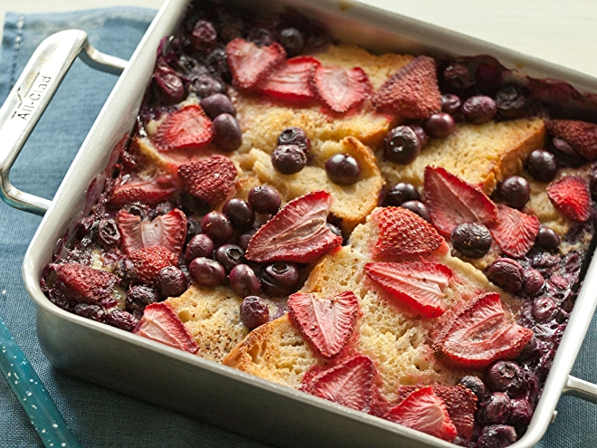Gluten-Free Baked Berry French Toast