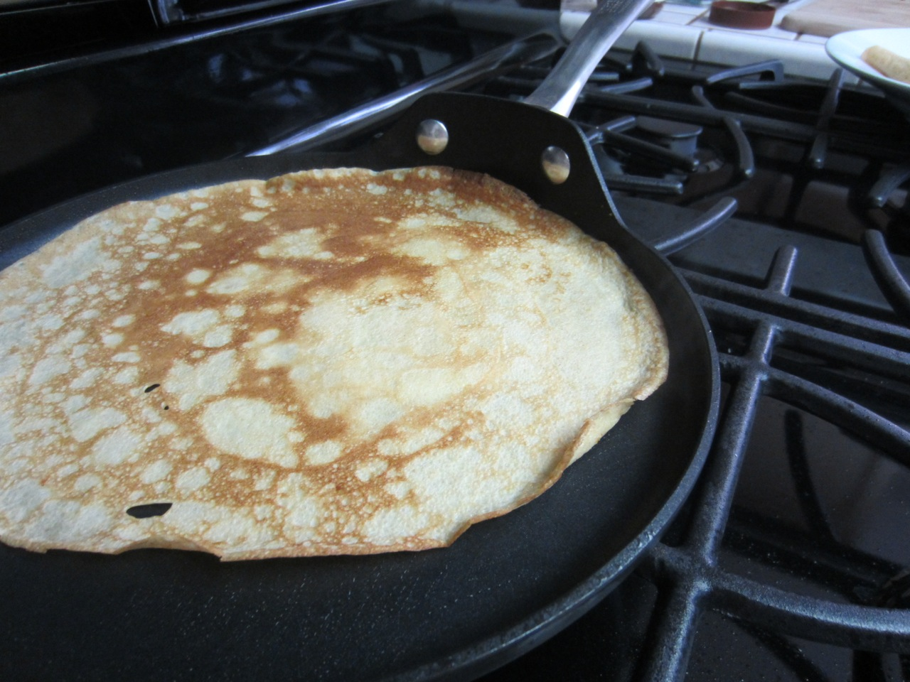 Crepe in the Pan