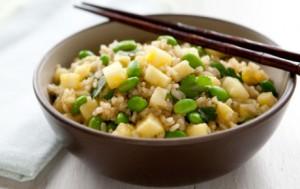 Pineapple Ginger Rice
