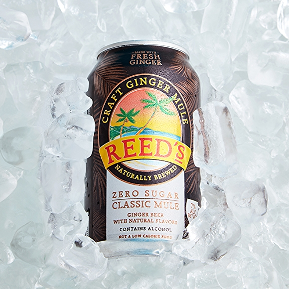 Reed's Classic Mule with Zero Sugar canned cocktail drink