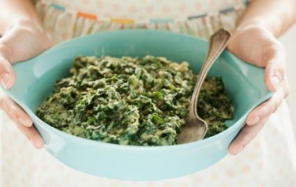 """""""Creamed"""" Kale"""