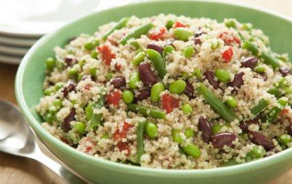 Three-Bean Salad with Quinoa