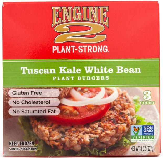 Tuscan Kale White Bean Plant Burgers