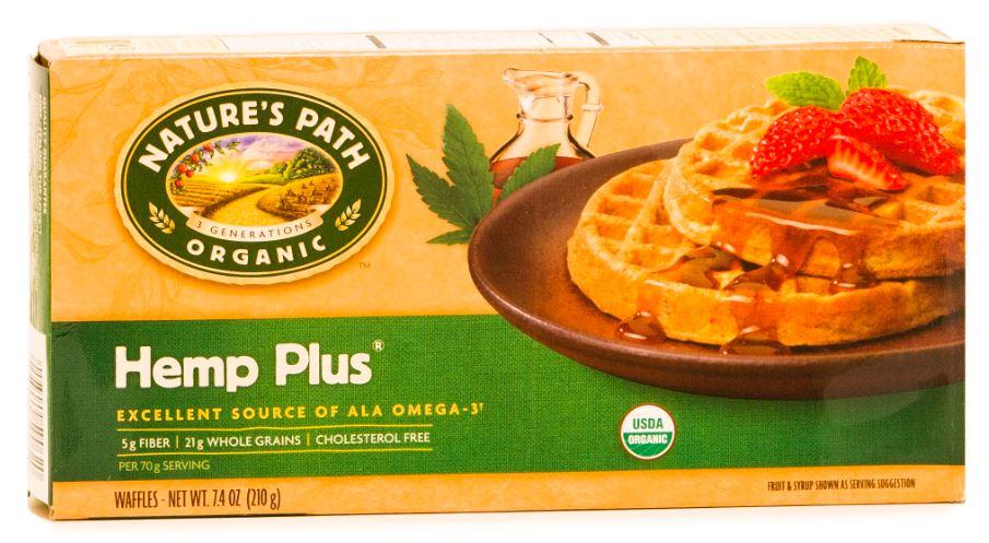 Nature's Path Organic Hemp Plus Waffles