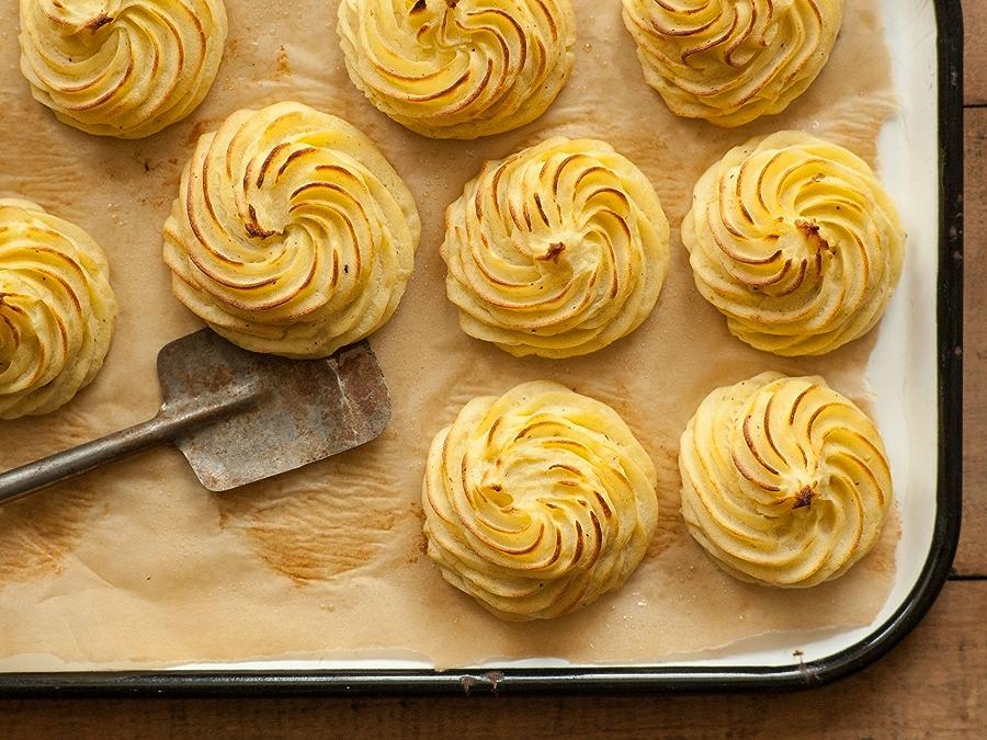 Recipe: Easy Duchess Potatoes