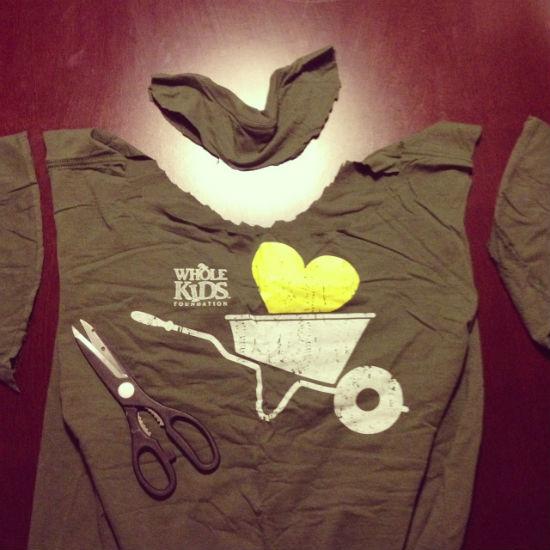 T-shirt reuse