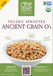 One Degree Organic Foods Vegan Sprouted Cereals