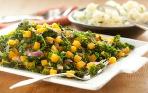 Butternut SquashKale Salad