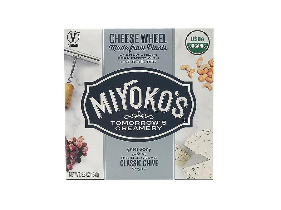 Miyoko's Classic Chive Double Cream Cashew Milk Cheese