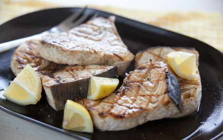 Easy Lemon Swordfish Steaks