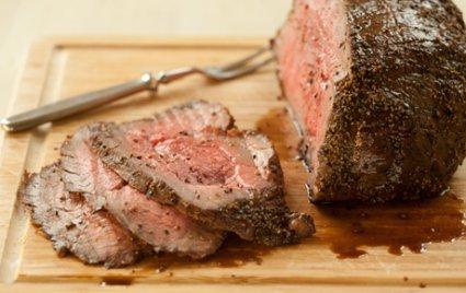 Honey-Glazed Black Pepper Roast Beef