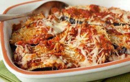 Easy Baked Eggplant Parmesan with Marina Sauce & Panko Breadcrumbs