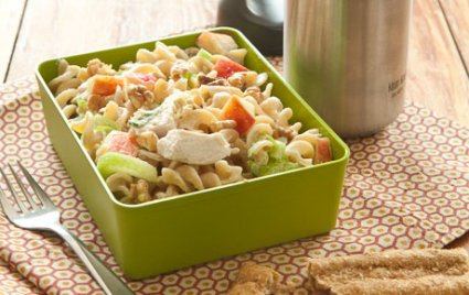 Waldorf Chicken and Pasta Salad