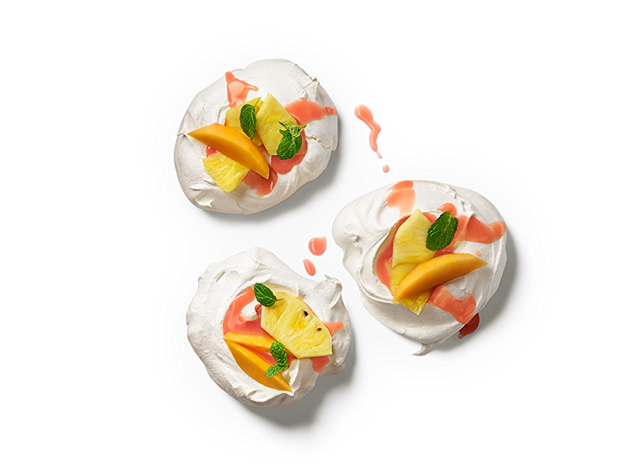 Image of mango Pineapple Pavlovas