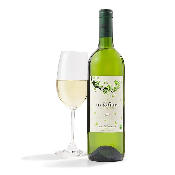 Château Les Garelles Blanc Bordeaux Wine