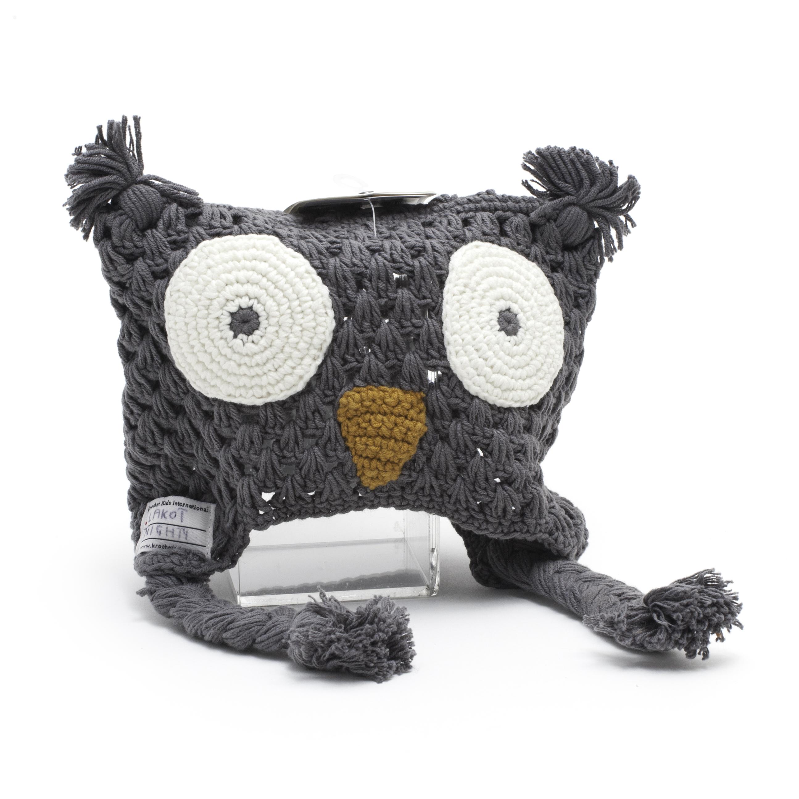 Owl Beanie by Krochet Kids