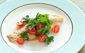 Catfish Parsley Salad