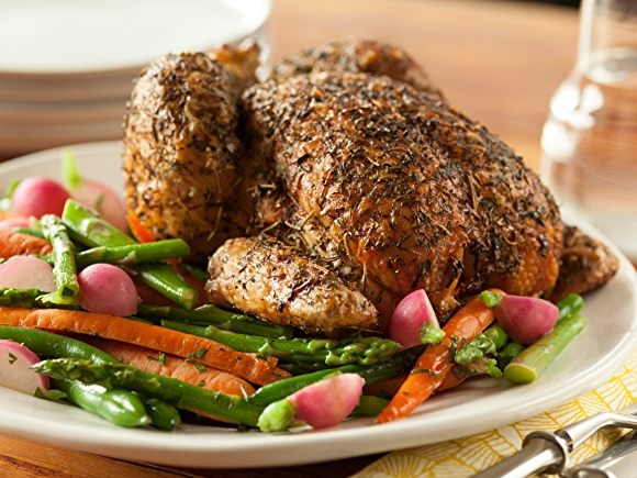 Recipe: Roasted Chicken with Herbs