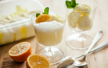 Fizzy Lemon Floats
