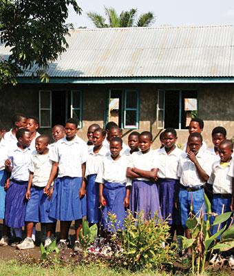 Tanzania schoolchildren