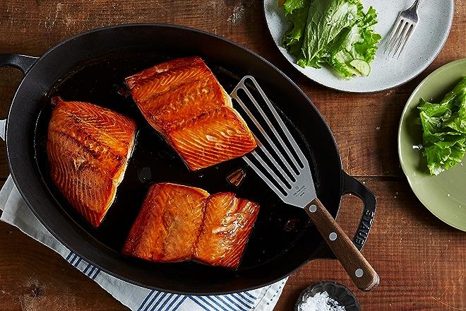 Hot Honey Salmon