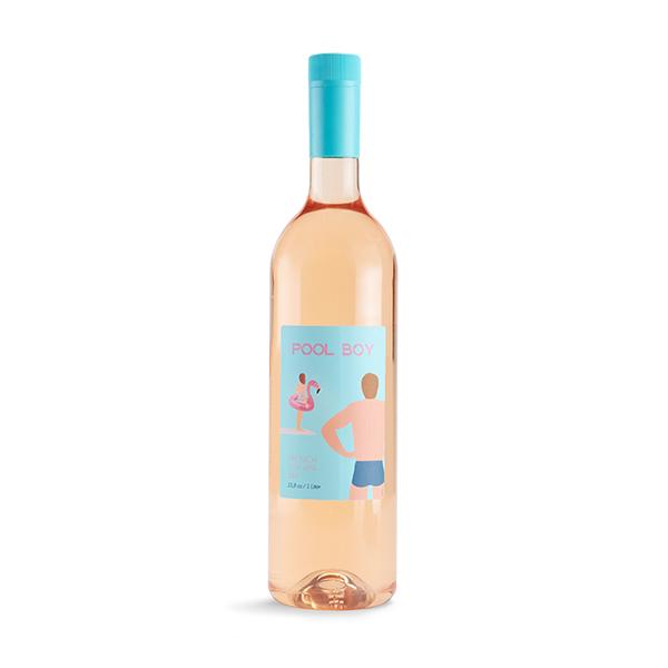 pool boy, rose wine, rose, wine, pool boy rose, pool boy wine