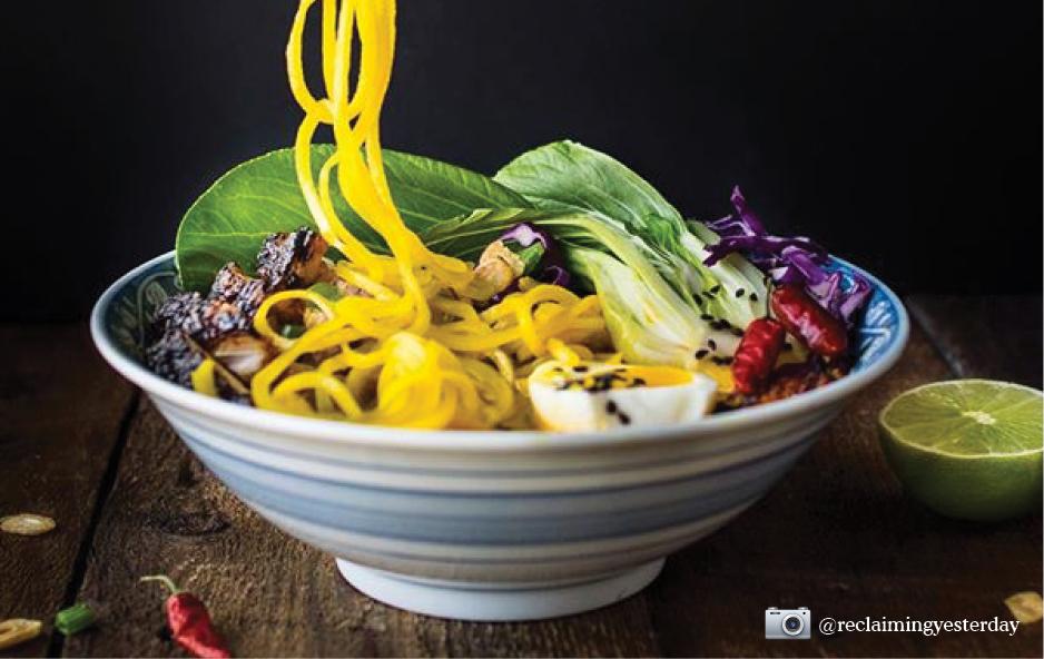 Bowl of Veggie Noodles