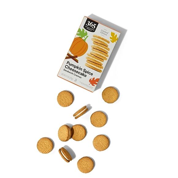 365 by Whole Foods Market Pumpkin Pie Cheesecake Sandwich Cremes