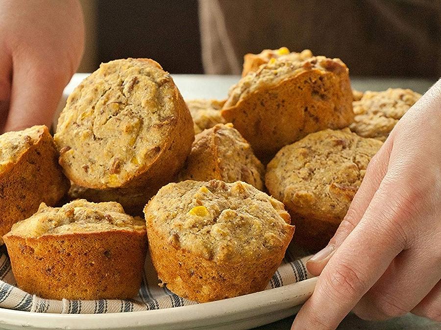 Photo: Whole Wheat Cornbread Muffins