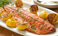 Grilled Side of Salmon