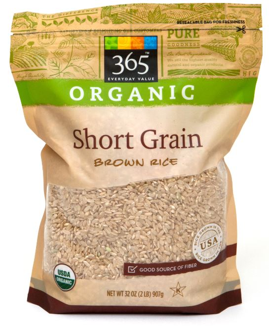 365 Everyday Value® Organic Short Grain Brown Rice