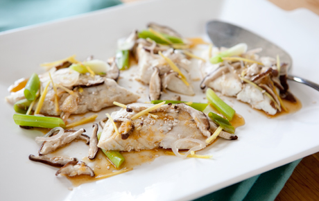 Lemongrass Steamed Barramundi