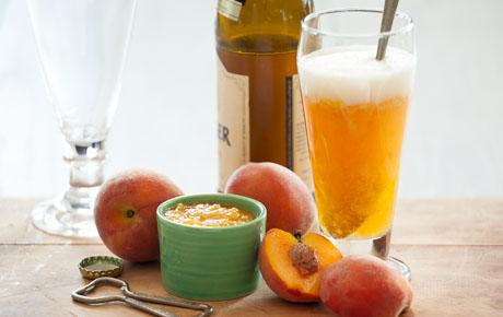 Honeyed Peach Wheat Beer