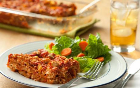 Simple Vegan Tofu Lasagna