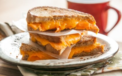 Carrot and Cheddar Grilled Cheese