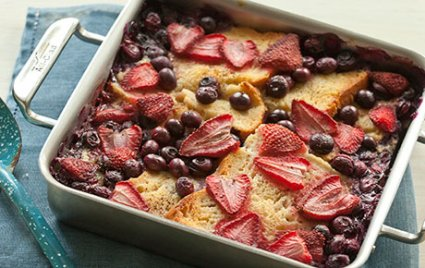Gluten Free Berry Baked French Toast