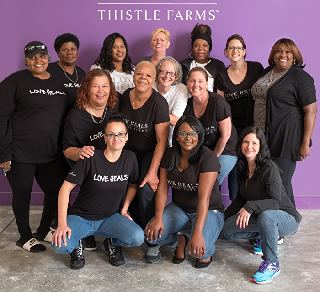 Thistle Farms team