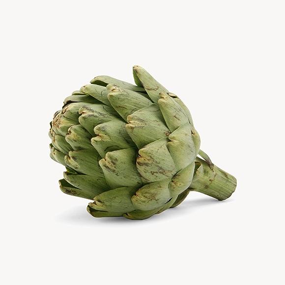 whole green artichoke