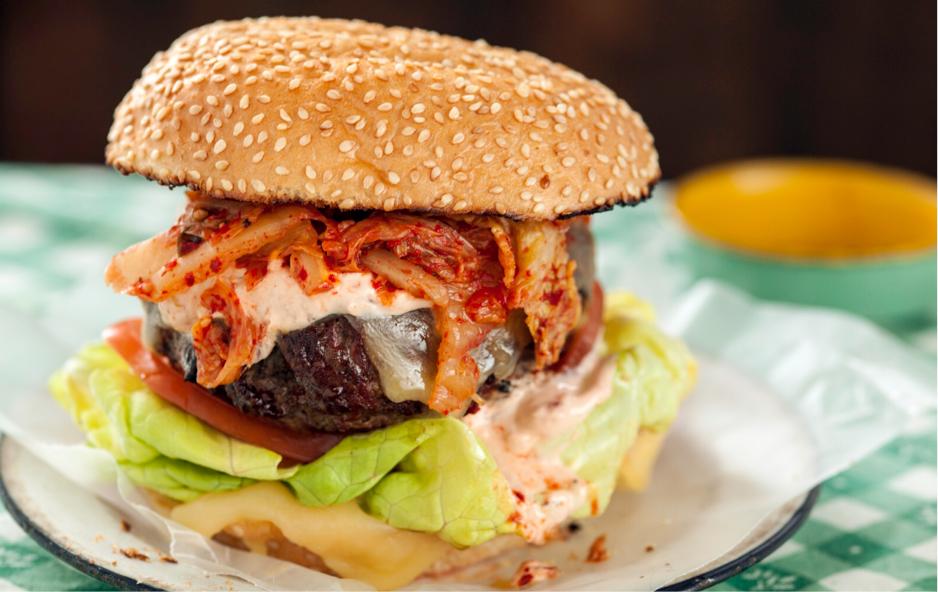 Kimchi Burgers