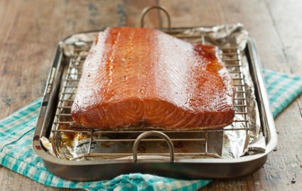 Homemade Smoked Salmon