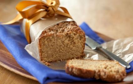 Lemon-Ginger Streusel Bread
